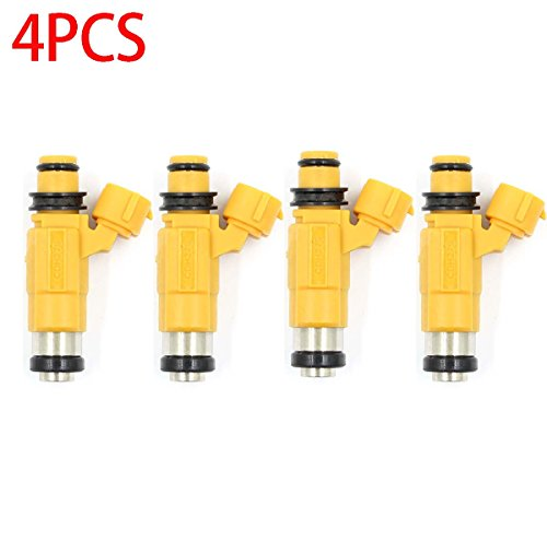GooDeal 4pcs Fuel Injector CDH275 fit Marine Yamaha F150 Outboard Four Stroke Mitsubishi