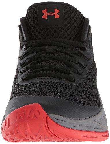 Mid Black De Ua graphite Under Red Armour radio Jet Zapatos Hombre Baloncesto Para ptTxBqw