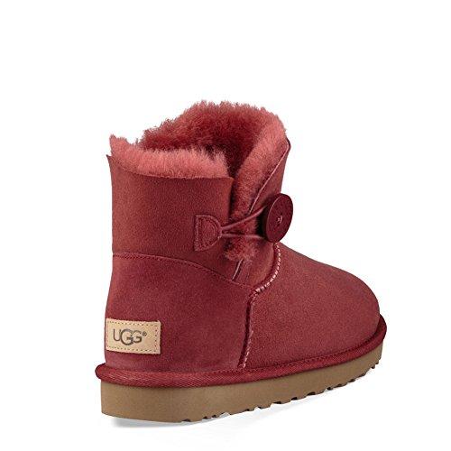 Mini Bailey Button Ugg Boot Ii Women's Winter Redwood 5xzqHq4n
