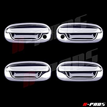 For Ford 97-02 Expedition 4D Chrome Door Handle Cover W//O Passenger Hole