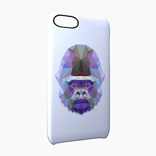 Gorilla Animal Art Of Triangles Glossy Hard Snap-On Protective iPhone 7 Case Cover