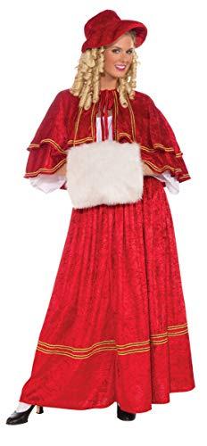 Forum Novelties Womens Christmas Caroler Costume