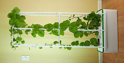 Hydroponic Vegetable Support Tower for Cucumbers, Tomatoe...