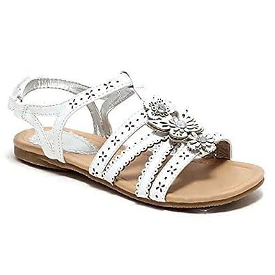 Mädchen Sandalen Sommerschuhe Schuhe Gr. 24 36 Sandalette Festtagsschuhe weiss