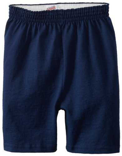 Soffe Big Boys' Heavy Weight Cotton Short, Navy, Small