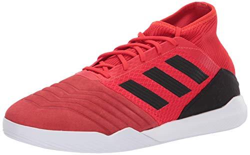 adidas Men's Predator 19.3 Turf, Active Black/Solar red, 13 M US ()