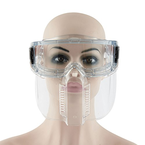 Joyutoy 2 in 1 Face Shield Safety Mask With Detachable Goggles for Painting, - Eyewear Discount Code