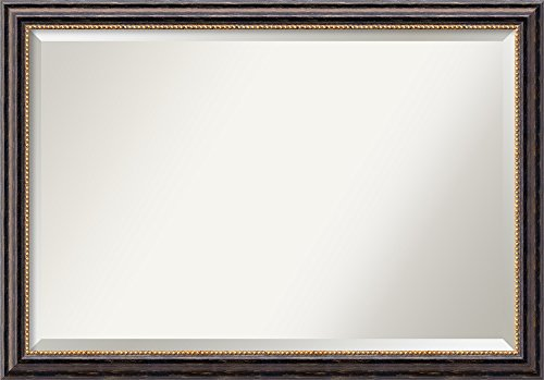 Amanti Art Framed Vanity Mirror | Bathroom Mirrors for Wall | Tuscan -