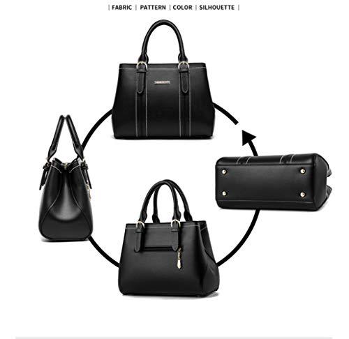 Bolsa Moda Del Damas Para Organizador Flht Baul Bolsos Brown Cuero Almacenamiento Venta Hombro De Cosméticos Mujer 7qO5Aznw