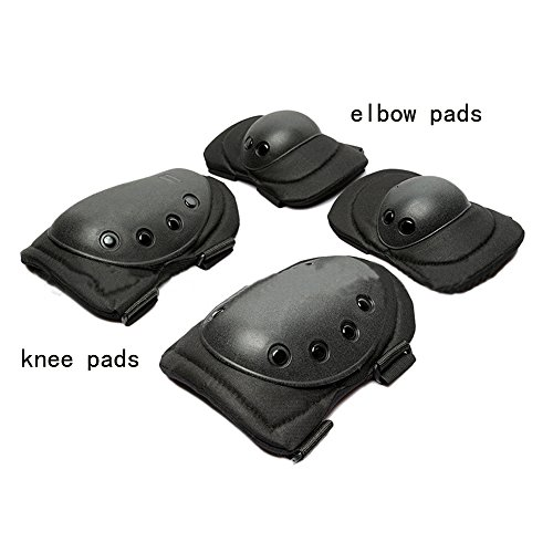 e Pads and Elbow Pads Knee Pads for Work Construction Cleaning Gardening and Flooring with Supportive Gel Cushion, Heavy Duty EVA Foam ()