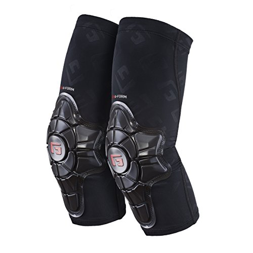 G-Form Pro-X Elbow Pads(1 Pair), Black Logo, Adult Large (Best Mountain Bike Elbow Pads)