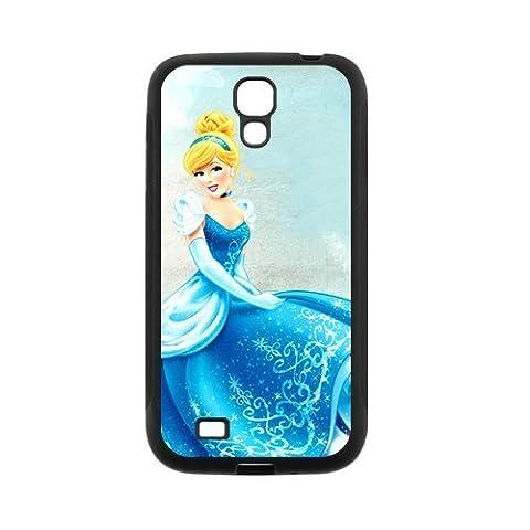 Cinderella Super Cool Phone Shell Case for SamSung Galaxy S4 I9500,TPU+PC Diy Galaxy s4 Cover Case (Cinderella Phone Cases Galaxy S4)