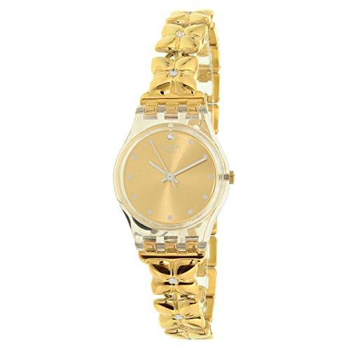Swatch Women's Lady LK358G Gold Stainless-Steel Swiss Quartz Watch