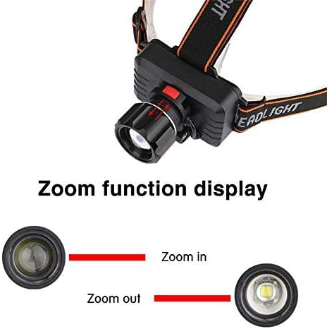 Headlamp Rechargeable Built-in Battery Head Lamp Headlight Super Bright Headlamp Torch Camping Flashlight Forehead 1yess