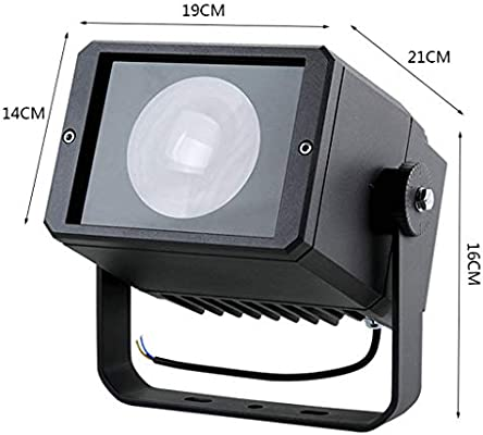 XXZJD Foco LED Proyector, Obra De Construcción De Proyección De La ...