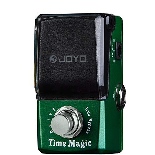 JOYO JF-304 Guitar Effect Pedal, Ironman Series Mini Pedal, Time Magic Guitar Delay Effect Pedal, Single - Pt2399 Pedal Effect