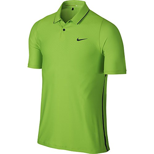 Tiger Woods Nike (NEW Nike Tiger Woods TW VL Max HyperCool Polo Action Green/Black Medium Shirt)