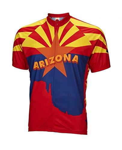 BDI Cycling Apparel Arizona Jersey, Multicolor, Large ()