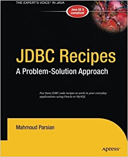 Book JDBC Recipes 1st edition by Parsian, Mahmoud (2014)