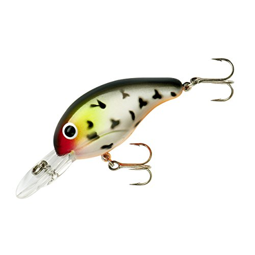 Bandit Crank 200-Series 2-Inch Mad Cow 4 to 8-Feet Deep Bait (White)