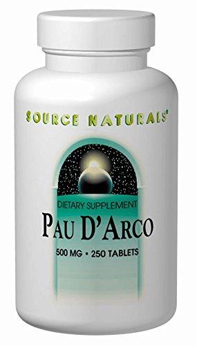 (Source Naturals PAU D'Arco Liquid Extract, 8 Glass Ounce)
