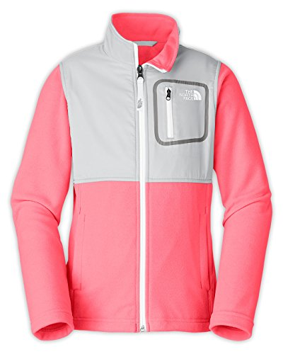 The North Face Glacier Track JKT Girls Sugary Pink/High Rise Grey GXL