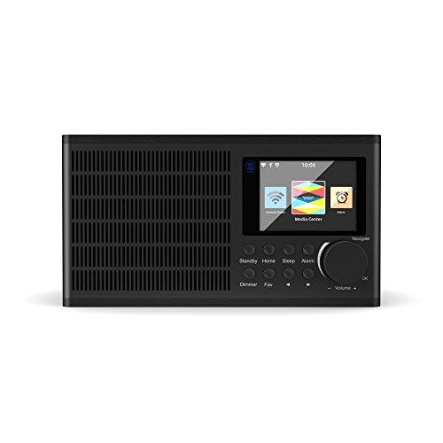 Peterhouse Internet WiFi Radio, Dual Alarm Clock, Stereo Speaker System,...