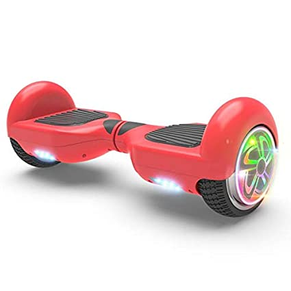 Amazoncom Hoverboard Ufo Red Safe Smart Two Wheel Alien Self