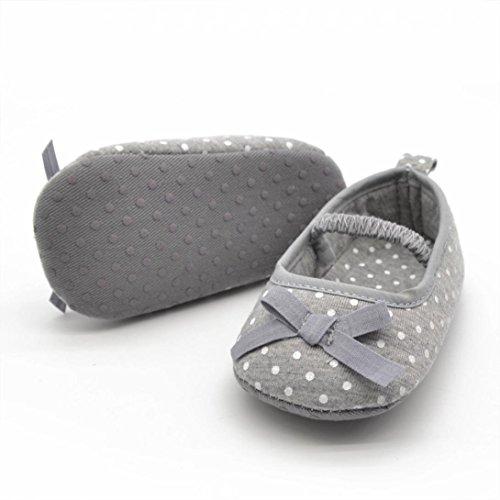 Transer ,  Unisex Babys Baby Mädchen Baby, Jungen Durchgängies Plateau Sandalen mit Keilabsatz Grau