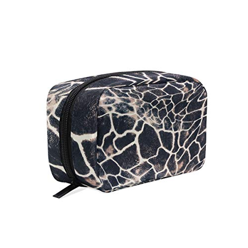Makeup Cosmetic Bag Abstract Art Animal Zebra Leopard Skin Pouch Clutch]()