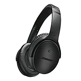 Bose QuietComfort 25 Headphones (wired, 3.5mm) 97 Apple compatible devices Applies to:      QC 25 noise cancelling headphones - Apple devices   The remote and mic are compatible with the following Apple devices:  iPhone 3GS or later  iPad  iPod touch 2nd generation or later  iPod classic 120GB, 160GB  iPod nano 4th generation or later Deep, powerful sound for the music you love Lightweight, comfortable around ear fit you can wear all day long