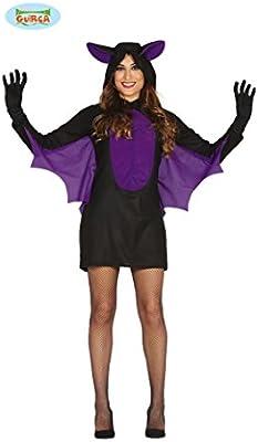 Disfraz de Murciélago morado para mujer: Amazon.es: Juguetes y juegos