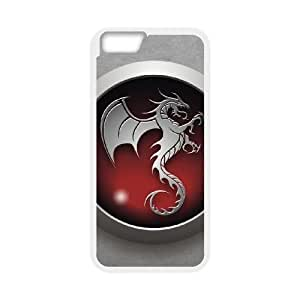 tribal dragon red iphone 6s 4.7 Inch Cell Phone Case White PSOC6002625660878