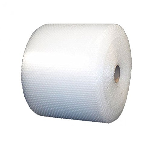 Bubble Roll 24 Wide x 175 ft Small Bubbles 3/16 Perforated Every 12 Uboxes BUBBSMA24175