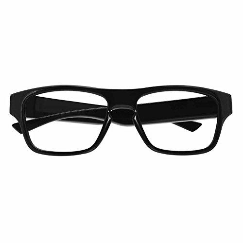 ViView Cámara de acción de vídeo con Gran Angular HD 1920 x 1080P Gafas de cámara Inteligente, Color Negro (Black-WI-FI)