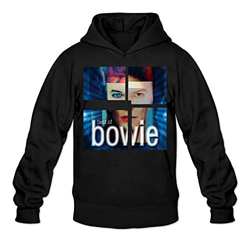 CYANY DBowie Singer Songwriter Actor Popular Music LIGHTS Women's New Hoodies Sweatshirt XXLBlack