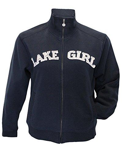Lakegirl Track Jacket Full Zip sweatshirt (X-Large)