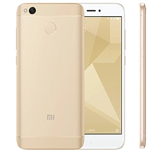 Redmi 4X Smartphone, 3GB RAM + 32GB ROM, 5-inch Display (Gold)