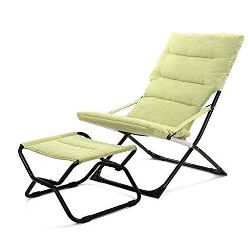 Relax,recliners Fauteuil Lazy Déjeuner Pliant Pause Seeksung Vert cS4AL3jRq5