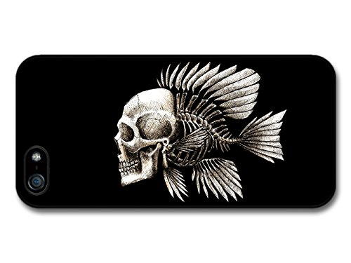 Skull Fish Charles Darwin Evolution Illustration coque pour iPhone 5 5S