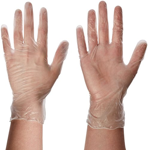 Synthetic Vinyl Powder Free Glove 100 Size: Large