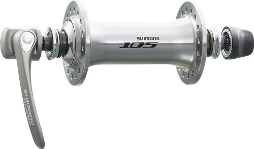 SHIMANO 105 Hb-5700 Front Road Hub - 36H, Silver