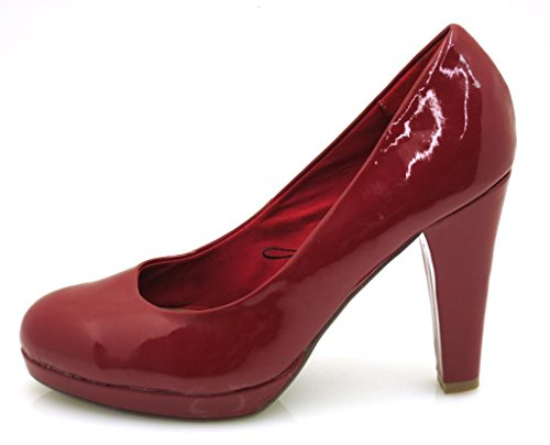 Dolce Vita Lackpumps Pumps Damenschuhe Schuhe rot schwarz Rot