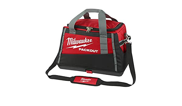 Milwaukee 932471067 PACKOUT - Bolsa de Viaje (50 cm), Color Rojo: Amazon.es: Bricolaje y herramientas
