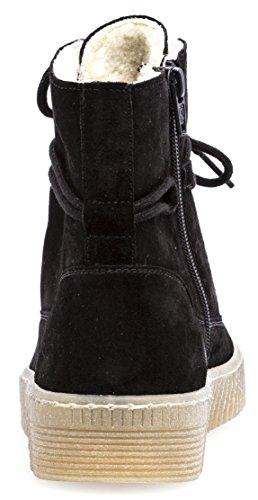 Boots Stiefel Gefüttert mit Stiefelette 73 Reißverschluss Warm mit 732 Verbreiterter Wechselfußbett Damenschuhe Auftrittsfläche Damen Gabor mit 71 Optifit pxY6XSqw