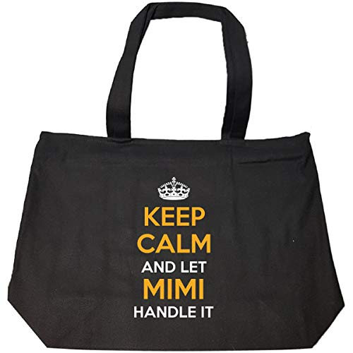 Keep Calm And Let Mimi Handle It Cool Gift - Tote Bag With Zip