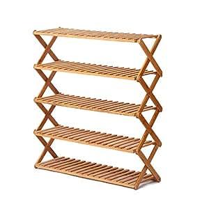 Amazon.com: GEXING-Shoebox - Zapatero de madera maciza ...