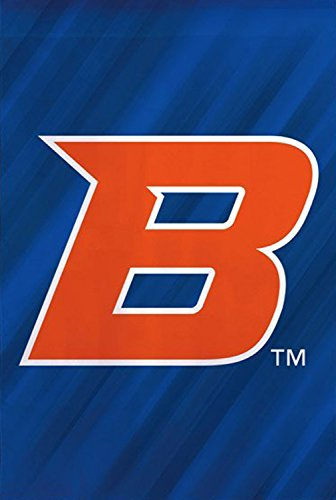 Boise State University Broncos Doubled Sided Garden Flag