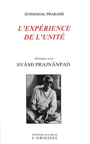 Lexpérience de lunité Sumangal Prakash