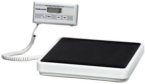 Health o meter Professional 349KLX Digital Floor Medical Scale, 400 lb 180 kg Capacity